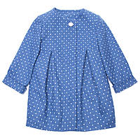 Пальто для девочки Miracle Me (синее)