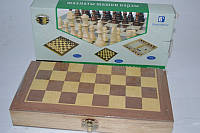 Шахматы нарды шашки деревянные настольная игра 16294-1