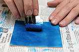 Краска для кожи на водной основе ROAPAS BATIK 100 мл Тёмно - Коричневый (Япония), фото 3