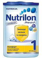 Молочная смесь Nutrilon ® Комфорт 1 Pronutra+ 800г