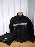 Мужской спортивный  трикотажный костюм Соккер большого размера