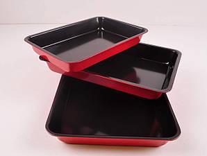 Набор прямоугольных форм для выпечки Stenson MH-0125(3 предмета)