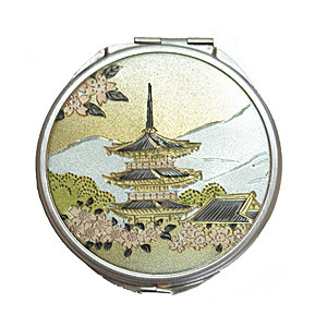 Косметическое зеркальце «Трехэтажная пагода»