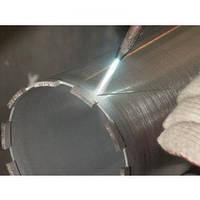Восстановление алмазных коронок Ø 57 методом напайки сегмента RS6 , фото 1