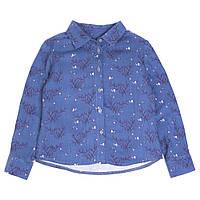Блузка с длинным рукавом Miracle Me (синяя)