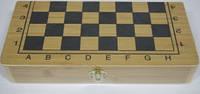 Шахматы нарды шашки деревянные настольная игра G07429-40СМ