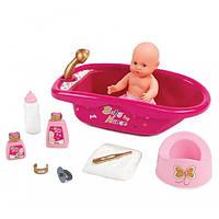 Ванночка для куклы с аксессуарами Baby Nurse Smoby