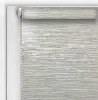 Готовые рулонные шторы Blackout серые 40,0х160см