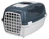 Переноска для собак и котов Trixie Capri 3, до 12кг, серая