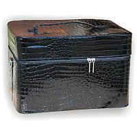 Чемодан маникюрный для лампы и других материалов, лаковый, цвета в ассортименте, фото 1