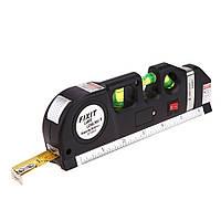 Лазерный уровень - рулетка laser level pro4