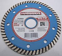Алмазный диск для резки высоко армированного бетона Haisser Turbo 125x2,2x8x22,23 RC 10 REINFORCE