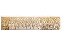 Кружево вязаное молочное, ширина 5 см, 14,5м в рулоне