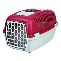 Переноска для котов и собак Trixie Capri 3, до 12кг, красная