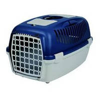 Переноска для котов и собак Trixie Capri 3, до 12кг, синий