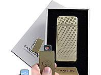 """Спиральная USB зажигалка """"Fang Jin"""" №4796С-1, успейте приобрести практичный гаджет, в подарочной коробке"""