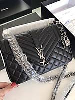 Модная сумочка Yves Saint Laurent натуральная кожа , фото 1