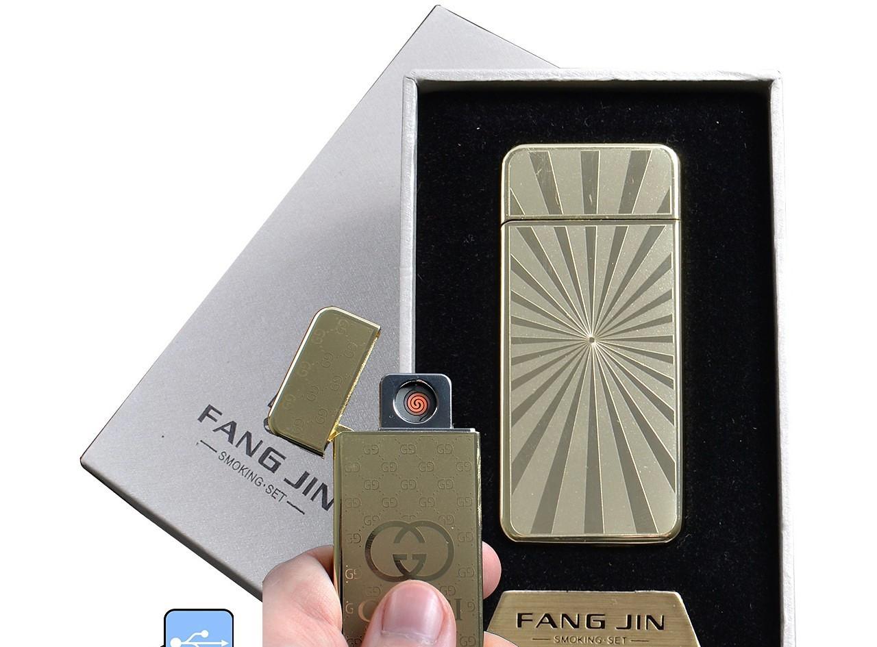 """Спиральная USB зажигалка """"Fang Jin"""" №4796С-2, заменит все обычные зажигалки, не требует газа или бензина"""