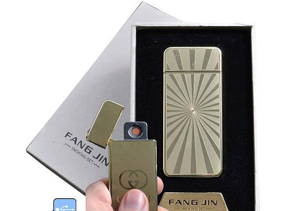 """Спиральная USB зажигалка """"Fang Jin"""" №4796С-2, заменит все обычные зажигалки, не требует газа или бензина, фото 2"""
