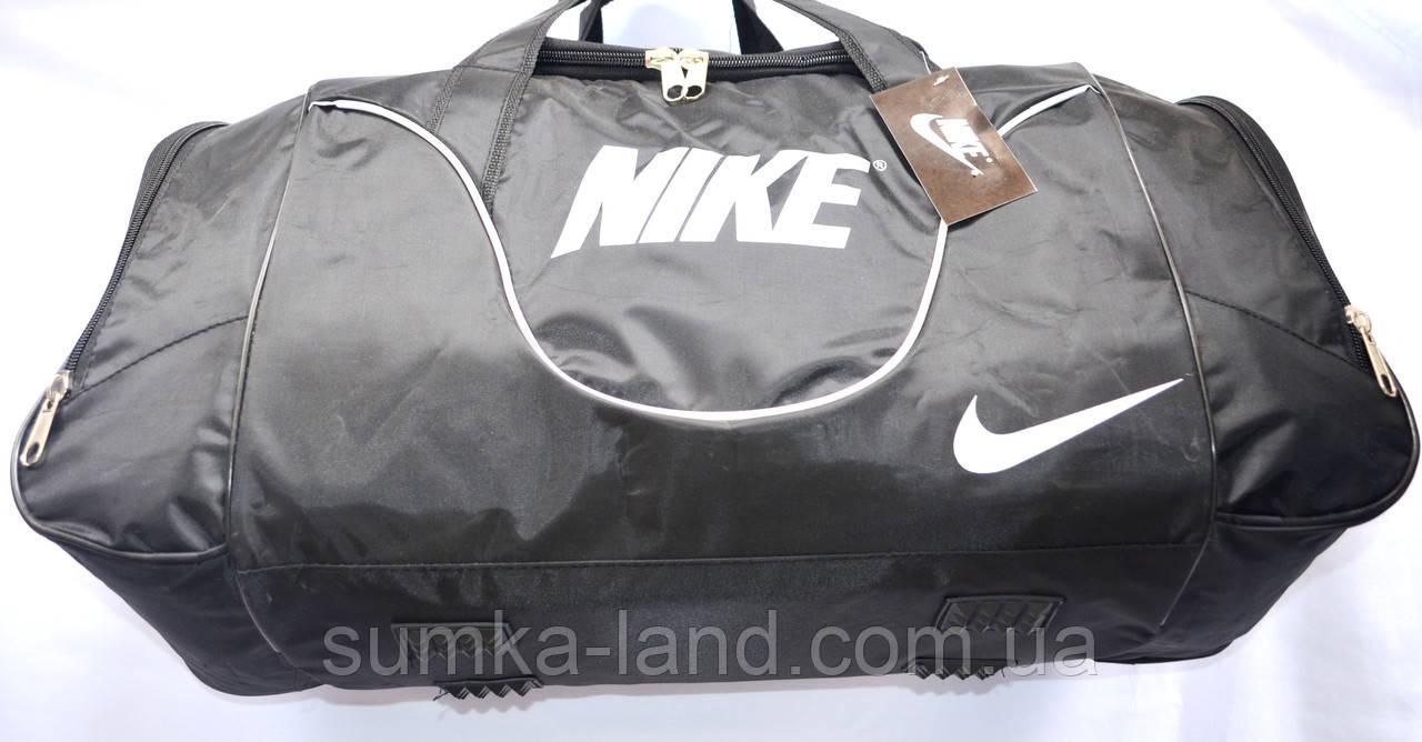 Спортивные дорожные сумки СРЕДНИЕ 62х30х24 (син/черн)