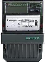Электросчетчик Меркурий ART-03 PQC(R)SIN 3*230/380В 5-7,5A  трехфазный актив- реактив многотарифный