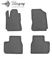Комплект резиновых ковриков Stingray для автомобиля  Citroen Cactus 2015-     4шт.