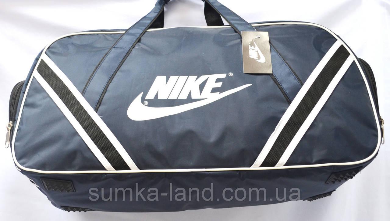 Спортивные дорожные сумки СРЕДНИЕ 56х30х23 (черн/син)