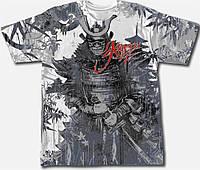 3D футболка двухсторонняя KRASAR-САМУРАЙ
