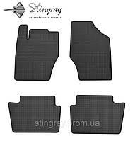 Комплект резиновых ковриков Stingray для автомобиля  Citroen DS4 2011-    4шт.