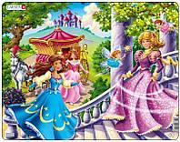 Пазл рамка-вкладыш Lasren - Принцессы