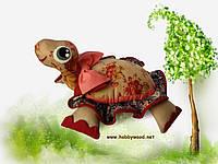 Подушка-черепашка