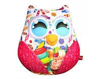 Мягкая антистрессовая игрушка Сова с конфетами Danko Toys