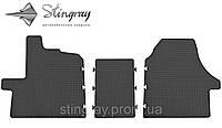 Комплект резиновых ковриков Stingray для автомобиля  Citroen Jumper II 2006-      3шт.