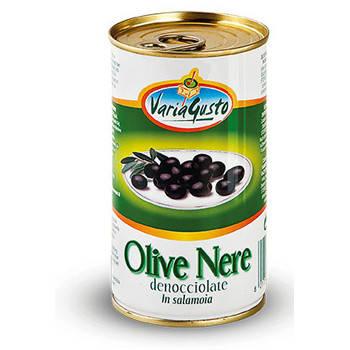 Черные оливки (маслины) Varia Gusto 350g Италия, фото 2