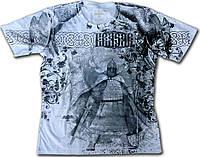 3D футболка двухсторонняя KRASAR-ВОИН