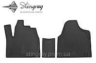 Комплект резиновых ковриков Stingray для автомобиля  Citroen Jumpy I 1995-2007    3шт.
