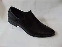 Туфли и лофеты черные 40-45 аа226