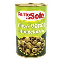 Оливки без косточек Frutto Del Sole 350гр. Италия