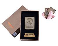 """Спиральная USB-зажигалка """"Ferrari"""" №4693A-4, станет прекрасным подарком, модный и стильный девайс для Вас"""