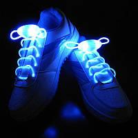 Светящиеся led шнурки! Батарейка входит в комплект!