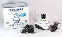 Цифровая IP камера HD, Wi-Fi, Ethernet, управление через сматрфон