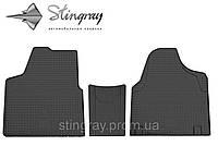 Комплект резиновых ковриков Stingray для автомобиля  Citroen Jumpy II 2007-      3шт.