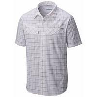 Мужская рубашка Columbia SILVER RIDGE™ MULTI PLAID SHORT SLEEVE SHIRT серая в клетку AM7429 103