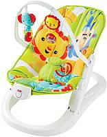 Кресло качалка шезлонг Fisher Price CMR20
