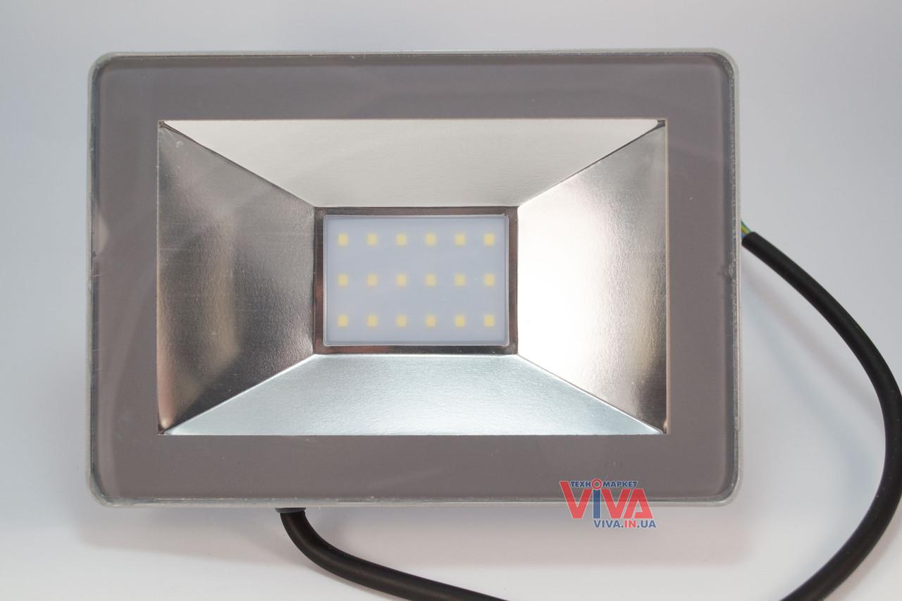 LED прожектор Titanum 20W 6000K 220V, фото 1