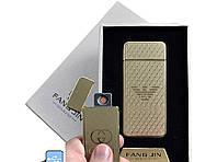 """Спиральная USB-зажигалка """"Giorgio Armani"""" №4796A-2, работает при ветре и в морозы, практичный гаджет"""