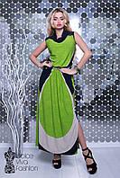 Стильное молодежное платье  1715-2