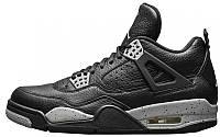 Баскетбольные кроссовки Nike Air Jordan 4 Retro, Найк Аир Джордан ретро черные