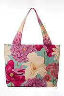 Сумка текстильная Цветы, фото 1