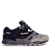Мужские кроссовки Reebok X Mighty Healthy Ventilator Affiliates Black Carbon Grey